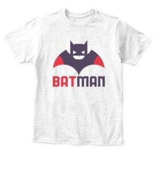 batman, Kid's Unisex Round Neck T-shirt