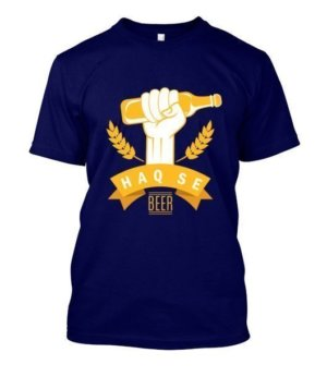 Haq Se Beer, Men's Round T-shirt