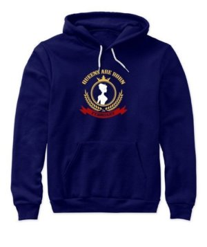 Queens are born in February, Women's Hoodies