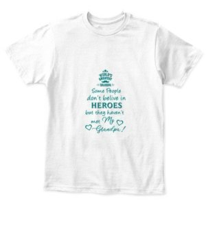 World's greatest grandpa-tshirt, Kid's Unisex Round Neck T-shirt