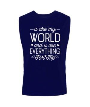 u are my world- tshirt