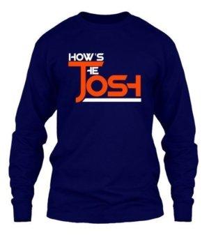 How's the JOSH, Men's Long Sleeves T-shirt