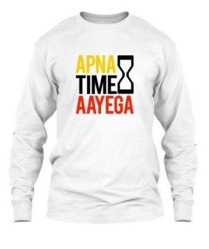 Apna time aayega, Men's Polo Neck T-shirt