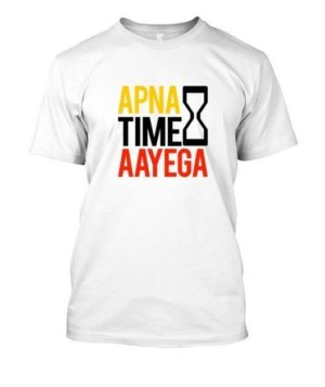 Apna time aayega, Men's Round T-shirt