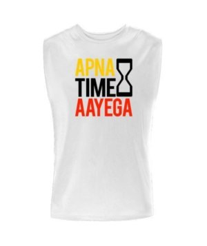 Apna time aayega, Men's Sleeveless T-shirt