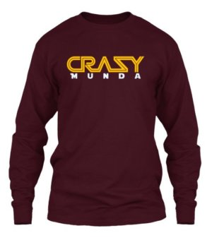 Crazy Munda, Men's Long Sleeves T-shirt