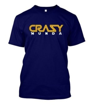 Crazy Munda, Men's Round T-shirt