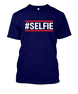 Selfie tshirt, Men's Round T-shirt