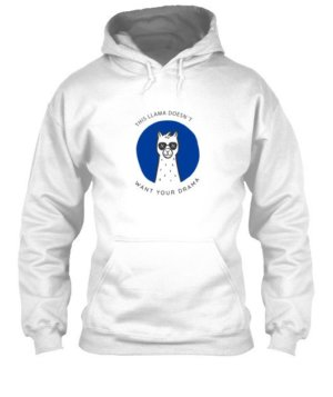 This Llama doesn't want your drama, Men's Hoodies