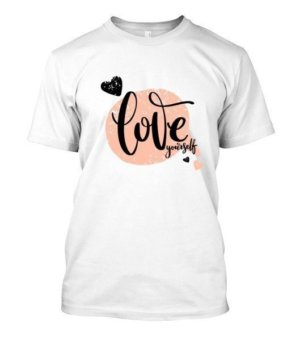 Love Yourself, Men's Round T-shirt