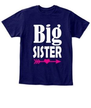 Big Sister, Kid's Unisex Round Neck T-shirt