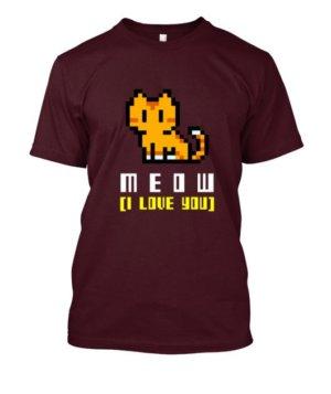MEOW, Men's Round T-shirt