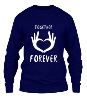 Together Forever, Men's Round T-shirt