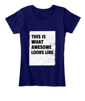 This is what awesome looks like, Men's Long Sleeves T-shirt