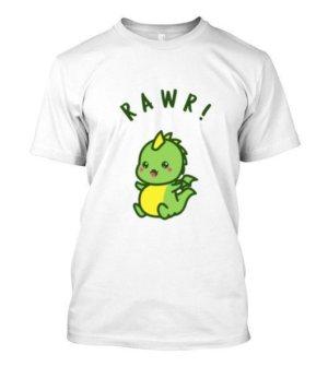 Baby Dino, Men's Round T-shirt