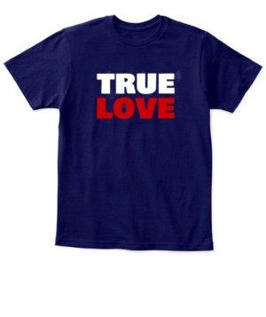 TRUE LOVE, Kid's Unisex Round Neck T-shirt