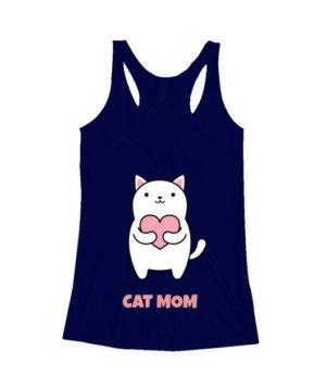 Cat Mom, Women's Tank Top