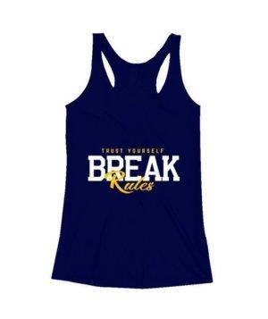 BREAK Rules, Women's Round Neck T-shirt