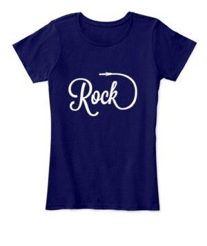 Rock, Women's Round Neck T-shirt