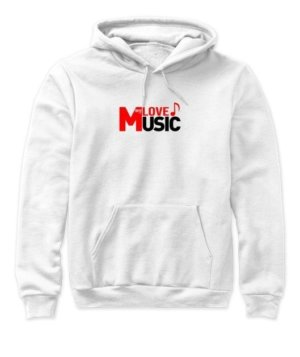 LOVE my MUSIC, Women's Hoodies