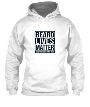 Beard Lives Matter, Men's Polo Neck T-shirt