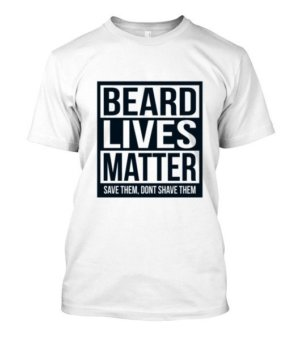 Beard Lives Matter, Men's Long Sleeves T-shirt
