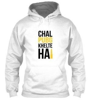 Chal PUBG khelte hai, Men's Hoodies