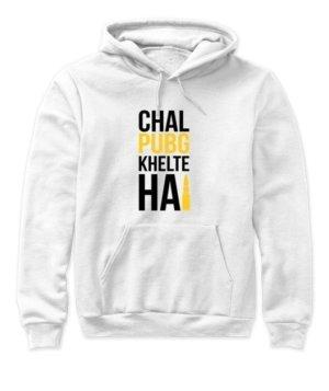 Chal PUBG khelte hai, Women's Hoodies