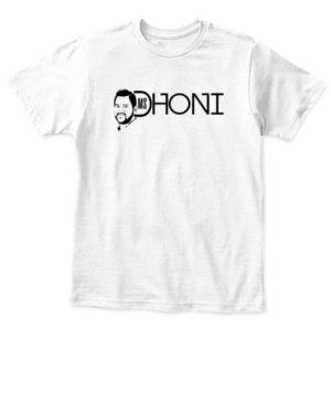MS DHONI, Kid's Unisex Round Neck T-shirt