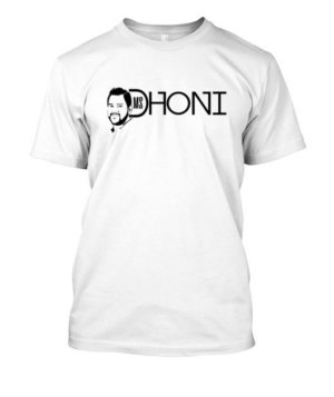 MS DHONI, Men's Round T-shirt