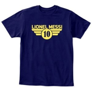 Lionel Messi, Kid's Unisex Round Neck T-shirt