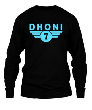 Dhoni, Men's Long Sleeves T-shirt