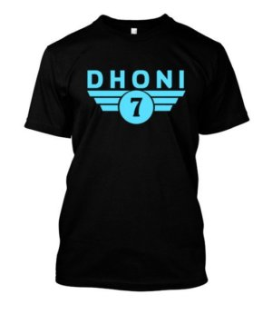Dhoni, Men's Round T-shirt