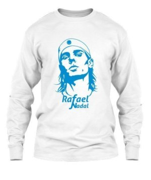 Rafael Nadal, Men's Long Sleeves T-shirt