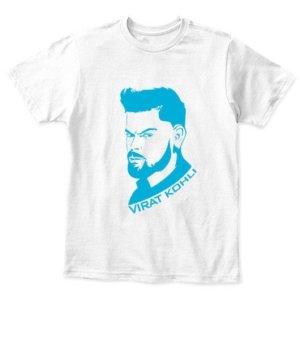 Virat Kohli, Kid's Unisex Round Neck T-shirt