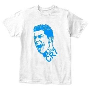 CR7, Kid's Unisex Round Neck T-shirt