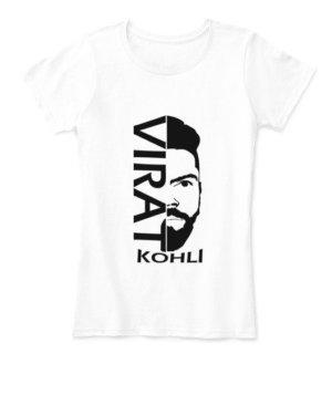 Virat Tshirt, Women's Round Neck T-shirt