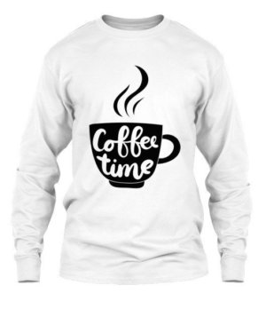 Coffee time, Men's Long Sleeves T-shirt