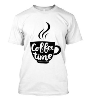 Coffee time, Men's Round T-shirt