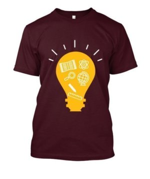 Idea, Men's Round T-shirt