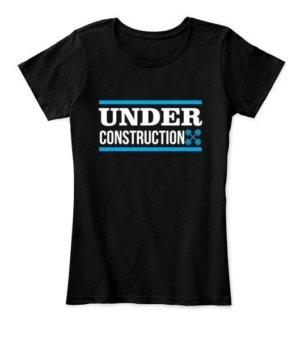 Under Construction Gym tshirt, Men's Sleeveless T-shirt