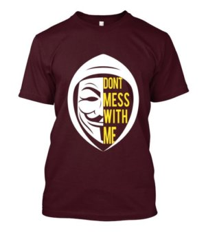 Don't Mess With Me, Kid's Unisex Round Neck T-shirt