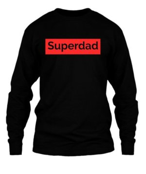 Superdad, Men's Long Sleeves T-shirt