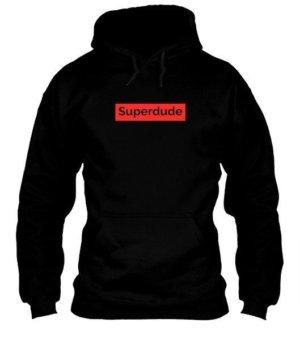 Superdude, Men's Long Sleeves T-shirt
