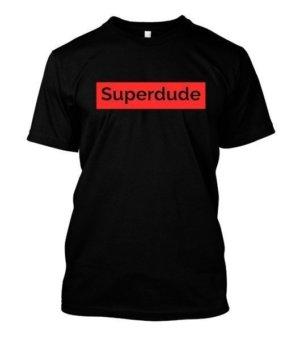 Superdude, Men's Round T-shirt