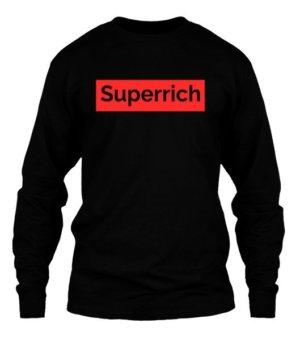 Superrich, Men's Round T-shirt