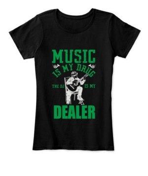 Music is my drug dealer, Men's Long Sleeves T-shirt