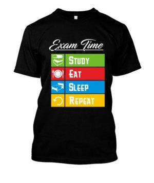 Exam time, Kid's Unisex Round Neck T-shirt