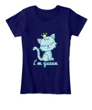 I'm queen, Women's Round Neck T-shirt
