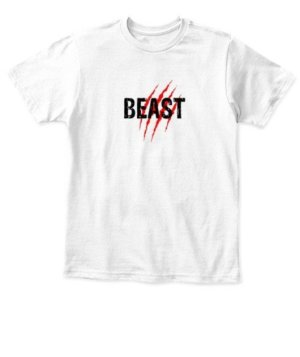 Beast, Kid's Unisex Round Neck T-shirt